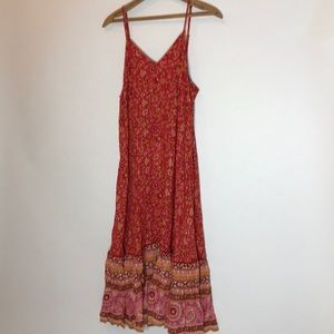 Spell & The Gypsy Collective Dresses - 🔁SWAP🔁 Spell Dahlia Strappy Dress in Cherry 🍒